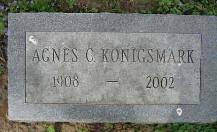 KONIGSMARK, AGNES - Linn County, Iowa | AGNES KONIGSMARK