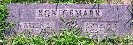 KONIGSMARK, DONALD R. - Linn County, Iowa | DONALD R. KONIGSMARK