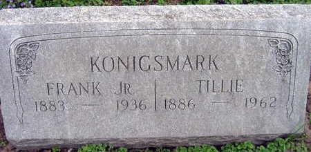 KONIGSMARK, TILLIE - Linn County, Iowa | TILLIE KONIGSMARK