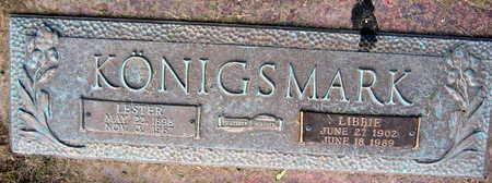 KONIGSMARK, LIBBIE - Linn County, Iowa | LIBBIE KONIGSMARK