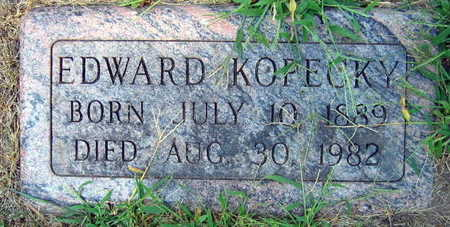 KOPECKY, EDWARD - Linn County, Iowa | EDWARD KOPECKY