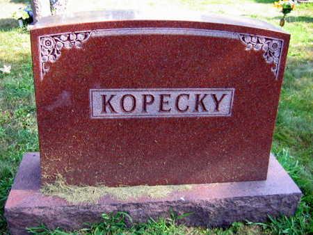 KOPECKY, FAMILY STONE - Linn County, Iowa | FAMILY STONE KOPECKY