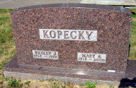 KOPECKY, MARY A. - Linn County, Iowa | MARY A. KOPECKY