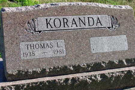 KORANDA, THOMAS L. - Linn County, Iowa | THOMAS L. KORANDA