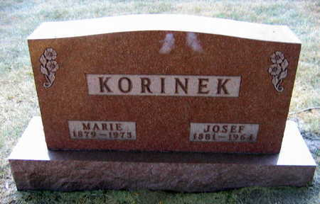 KORINEK, MARIE - Linn County, Iowa | MARIE KORINEK