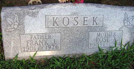 KOSEK, FRANK - Linn County, Iowa | FRANK KOSEK