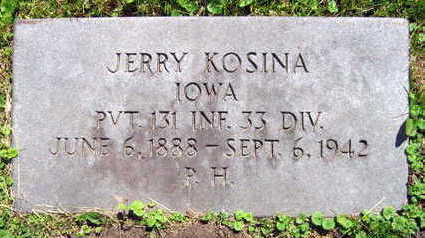 KOSINA, JERRY - Linn County, Iowa | JERRY KOSINA
