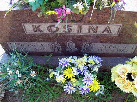 KOSINA, LOUISE A. - Linn County, Iowa | LOUISE A. KOSINA