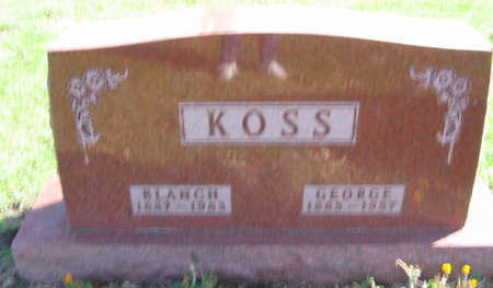 KOSS, GEORGE - Linn County, Iowa | GEORGE KOSS