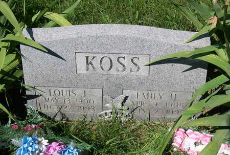 KOSS, LOUIS J. - Linn County, Iowa | LOUIS J. KOSS
