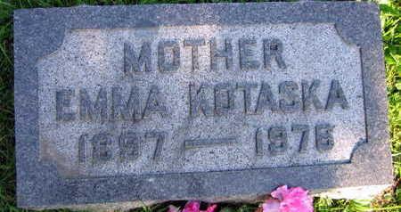KOTASKA, EMMA - Linn County, Iowa | EMMA KOTASKA