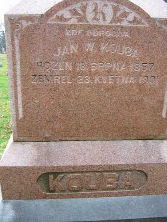 KOUBA, JAN W. - Linn County, Iowa | JAN W. KOUBA