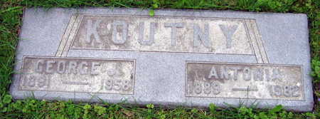 KOUNTNY, GEORGE J. - Linn County, Iowa | GEORGE J. KOUNTNY