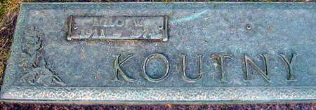 KOUNTY, MILO W. - Linn County, Iowa | MILO W. KOUNTY