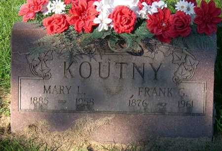 KOUTNY, MARY L. - Linn County, Iowa | MARY L. KOUTNY