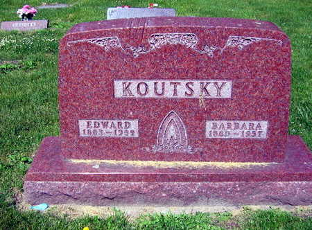 KOUTSKY, EDWARD - Linn County, Iowa | EDWARD KOUTSKY