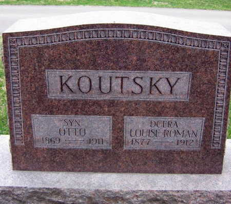 KOUTSKY, LOUISE ROMAN - Linn County, Iowa | LOUISE ROMAN KOUTSKY