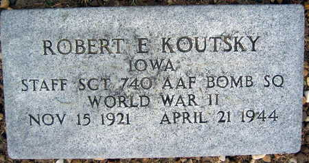 KOUTSKY, ROBERT E. - Linn County, Iowa | ROBERT E. KOUTSKY