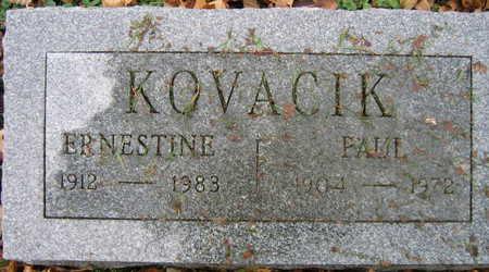 KOVACIK, PAUL - Linn County, Iowa | PAUL KOVACIK