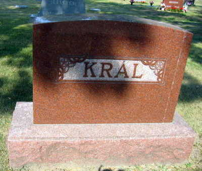 KRAL, FAMILY STONE - Linn County, Iowa | FAMILY STONE KRAL