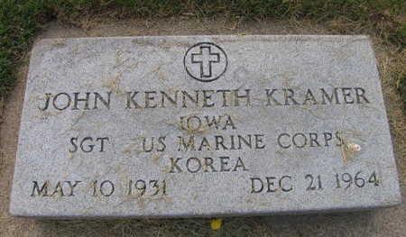 KRAMER, JOHN KENNETH - Linn County, Iowa | JOHN KENNETH KRAMER