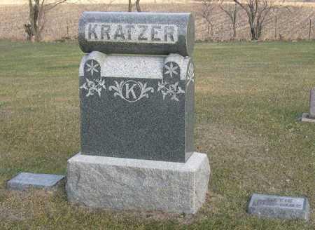 KRATZER, FAMILY STONE - Linn County, Iowa | FAMILY STONE KRATZER