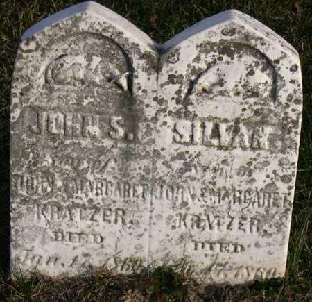 KRATZER, JOHN S. - Linn County, Iowa | JOHN S. KRATZER