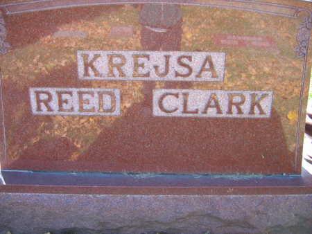 KREJSA REED CLARK, FAMILY STONE - Linn County, Iowa | FAMILY STONE KREJSA REED CLARK