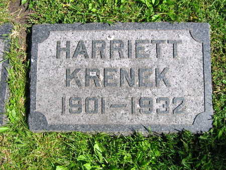 KRENEK, HARRIETT - Linn County, Iowa | HARRIETT KRENEK