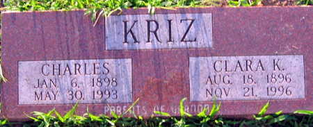 KRIZ, CHARLES - Linn County, Iowa | CHARLES KRIZ
