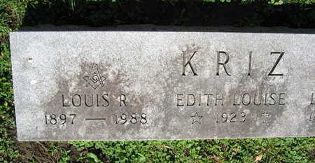 KRIZ, LOUIS R. - Linn County, Iowa | LOUIS R. KRIZ