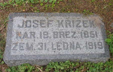 KRIZEK, JOSEF - Linn County, Iowa | JOSEF KRIZEK