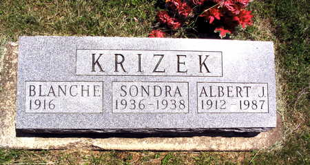 KRIZEK, ALBERT J. - Linn County, Iowa | ALBERT J. KRIZEK