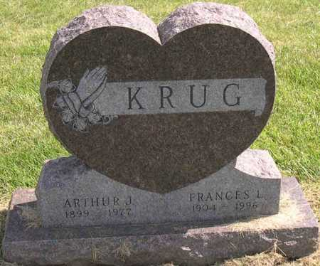 KRUG, FRANCES L. - Linn County, Iowa | FRANCES L. KRUG