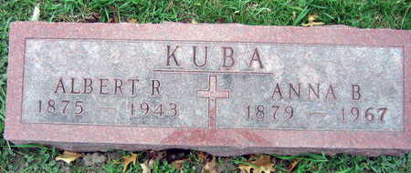 KUBA, ALBERT R. - Linn County, Iowa | ALBERT R. KUBA
