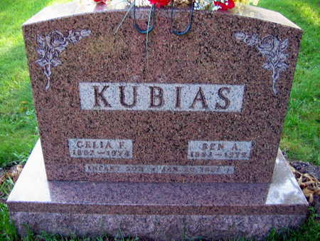 KUBIAS, BEN A. - Linn County, Iowa | BEN A. KUBIAS