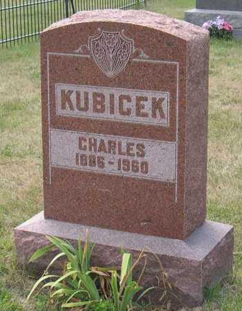 KUBICEK, CHARLES - Linn County, Iowa | CHARLES KUBICEK