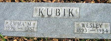 KUBIK, WESLEY - Linn County, Iowa | WESLEY KUBIK