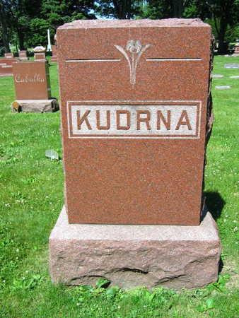 KUDRNA, FAMILY STONE - Linn County, Iowa | FAMILY STONE KUDRNA