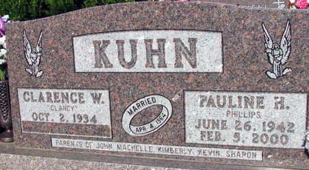 PHILLIPS KUHN, PAULINE H. - Linn County, Iowa | PAULINE H. PHILLIPS KUHN