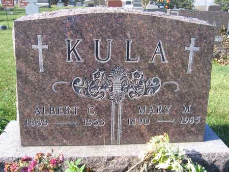 KULA, MARY M. - Linn County, Iowa | MARY M. KULA