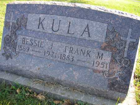 KULA, BESSIE J. - Linn County, Iowa | BESSIE J. KULA