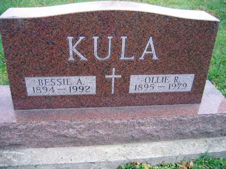 KULA, BESSIE A. - Linn County, Iowa | BESSIE A. KULA