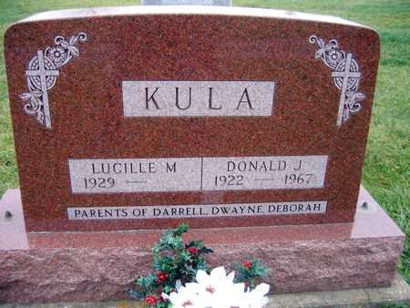 KULA, DONALD J. - Linn County, Iowa | DONALD J. KULA