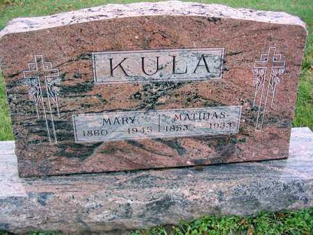 KULA, MARY - Linn County, Iowa | MARY KULA