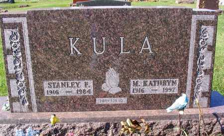 KULA, STANLEY F. - Linn County, Iowa | STANLEY F. KULA