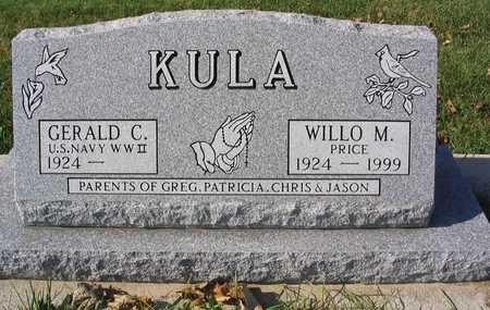 KULA, WILLO M. - Linn County, Iowa | WILLO M. KULA