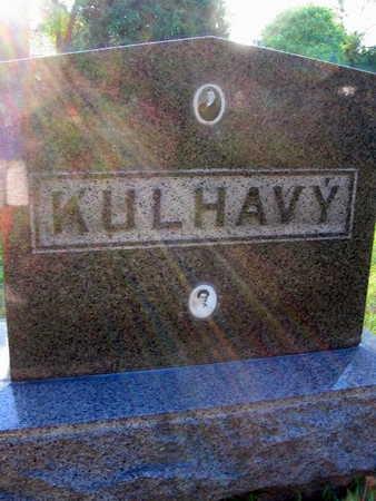 KULHAVY, FAMILY STONE - Linn County, Iowa | FAMILY STONE KULHAVY