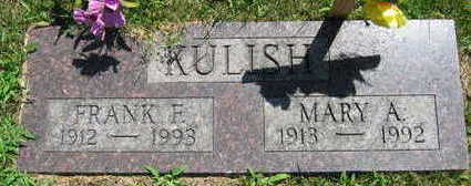 KULISH, FRANK F. - Linn County, Iowa | FRANK F. KULISH
