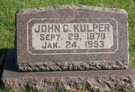 KULPER, JOHN C. - Linn County, Iowa | JOHN C. KULPER